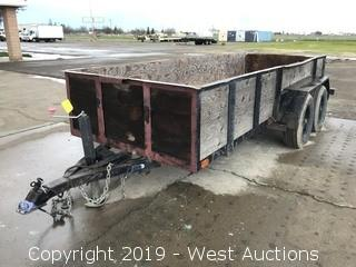 1994 Azcal 14'x5' Utility Trailer