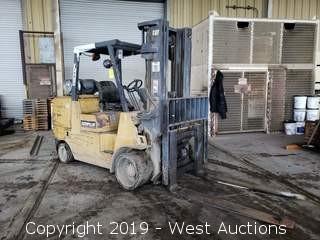 Caterpillar 12,000 Lb Propane Forklift