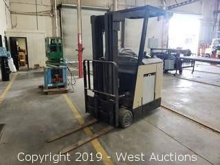 Crown 3000 Lb Electric Forklift with Charger