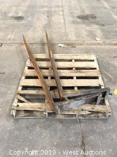 (2) 6' Forklift Forks