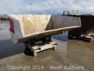 """Forklift Dump Bin 80"""" x 60"""""""