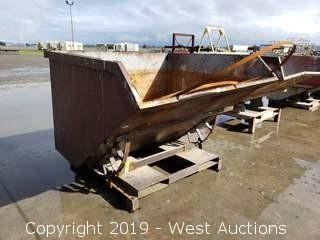 Forklift Dump Bin 6'x5'