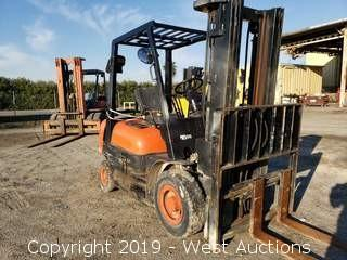 Toyota 4100 Lb Propane Forklift