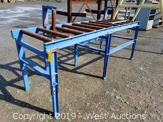 """Roller Table 10' x 3"""" x 46"""""""