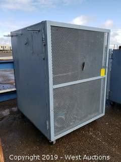 Portable Metal Cage Unit 4' x 4' x 5'