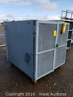 Portable Metal Cage Unit 4' x 4' x 4'
