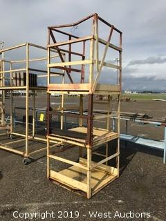 Portable Steel Frame Scaffolding Unit 3'x3'x9'