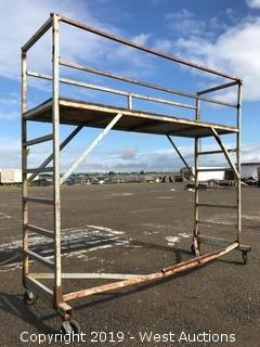 Portable Steel Frame Scaffolding Unit 12'x4'x11'