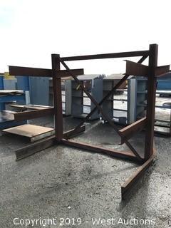 Steel Material Rack 7'x8'