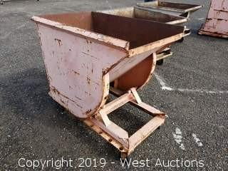 Forklift Dump Bin 2' x 3'