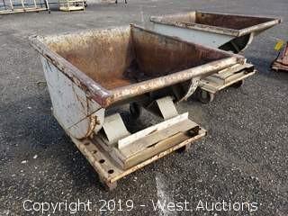 """Forklift Dump Bin 32"""" x 40"""""""