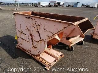 """Forklift Dump Bin 27"""" x 66"""""""