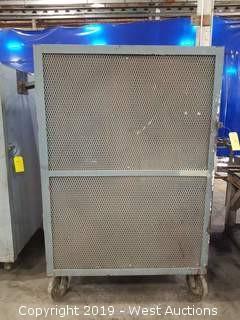"""Rolling Steel Cabinet 45""""x30.5""""x69.5"""""""