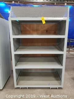 "Steel Shelf 45.5""×29'x72"""