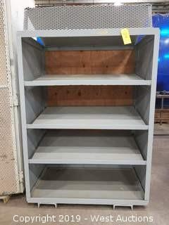 "Steel Shelf 45.5""×29""×72"""