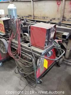 Lincoln Electric CV-300 GMA Control Welder with Feed