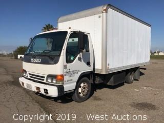 2000 Isuzu NPR HD Diesel Box Truck