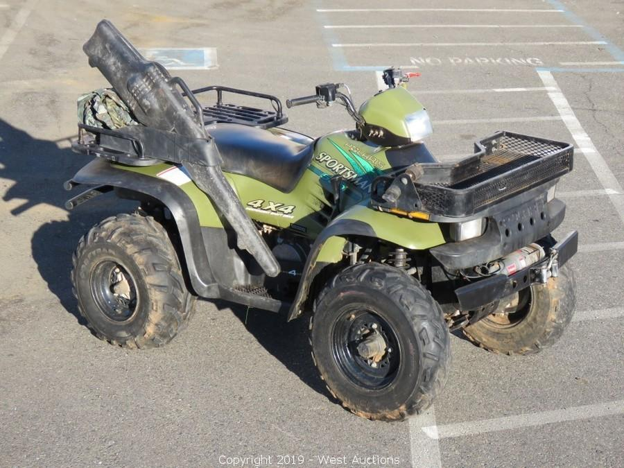 West Auctions - Auction: Online Auction of ATV, Dirt Bike