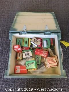 Bullets: Ammo Case Full Of Reloading Ammunition