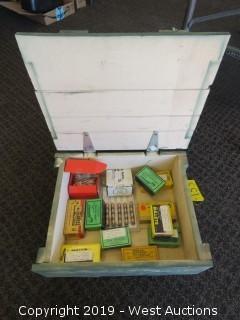 Bullets: Ammo Case Full Of Ammunition Bullets