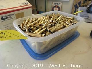 Case Of (250) Processed 30-06 Brass