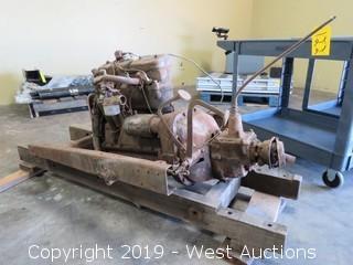 1924 Chevy Touring Sedan Engine Gear Box