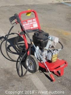 Ex-cell 2002 CWT Pressure Washer