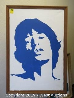 Mick Jagger 26x39 Wall Art