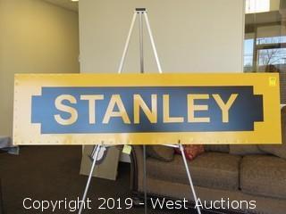 Stanley Tools 60x16 Steel/Wood Sign