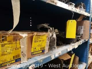(15) 20A-125A Circuit Breakers