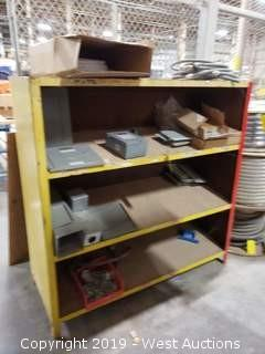 Bulk Lot; Rack of Safety Switches, Hosing, and Hardware