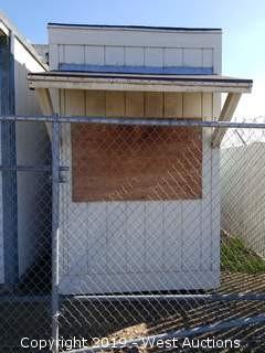 6' x 8' x 9' Modular Building (1 Unit: H-30 DMV-6)