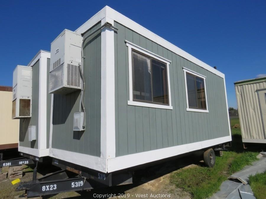 Online Auction of Portable Modular Buildings for Sale in Merced, CA