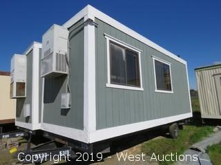 8' x 23' x 12' Portable Modular Building (1 Unit: DMV-15)