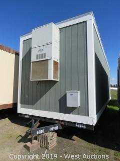 10' x 35' x 12' Portable Modular Building (1 Unit: H-169)