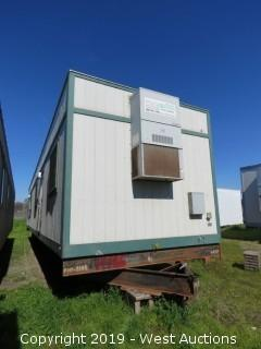 12' x 61' x 12' Portable Modular Building (1 Unit: H-186)