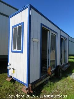 4' x 16' x 8' Portable Modular Building (1 Unit: DMV-2)