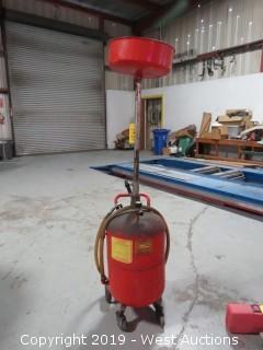 Oil Draining Station