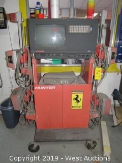 Hunter J111 Alignment Machine