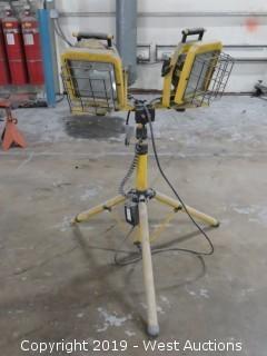 (2) Power Light Heavy Duty Work Lights