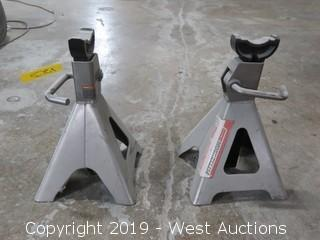 (2)12 Ton Vehicle Stands