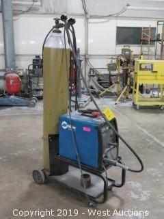 Millermatic 135 115V Wire Welder with Cart and Canister