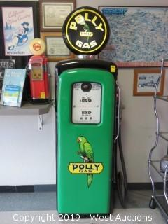 Polly Gas Vintage Gas Pump