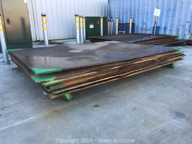 Online Auction of Steel Trench Plates and Rumble Plates in Eureka, CA