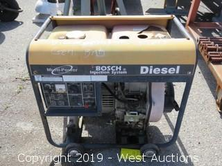 Multi-Power Bosch Injection System Diesel Generator