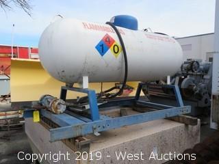 "90""x30"" Propane Tank with Pump"