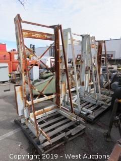 (3) GE Portable Lift Trucks