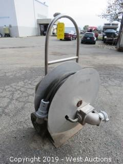 Handtruck With Power Cable Spool