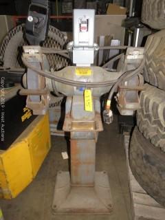 """Baldor 1215W 12"""" Pedestal Grinder"""