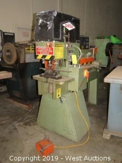 Clausing MM40 Dual Metal Muncher Ironworker